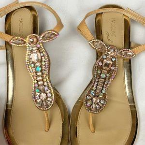 MADELINE STUART | Rhinestone Sandals